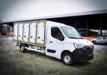 Polycar відвантажила партію автомобілів Renault Master з фургонами для перевезення хлібобулочних виробів