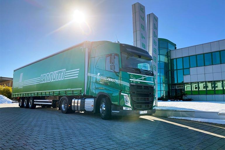 Італійська компанія замовила 1000 вантажівок компанії Volvo