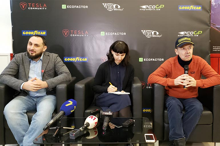 Через Київ, Львів та Одеса простягнеться український етап ралі на електромобілях «Навколо світу за 80 днів»