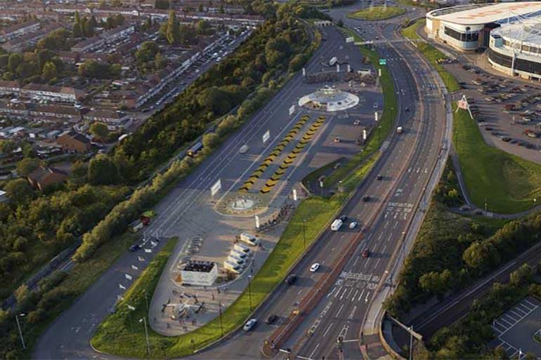 Місто Ковентрі (Британія) збудують аеропорт для авто, що літають