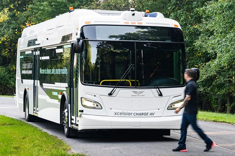 New Flyer презентувала автономний електробус Xcelsior AV