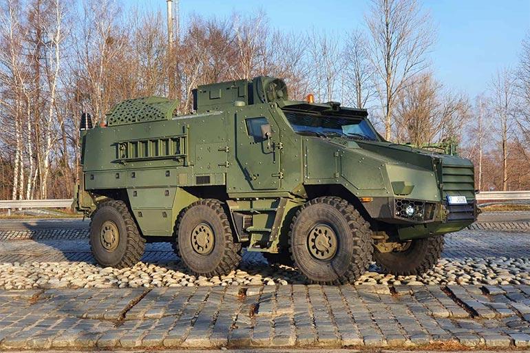 Для чеської армії: TATRA розпочала виготовлення броньованих автомобілів TITUS