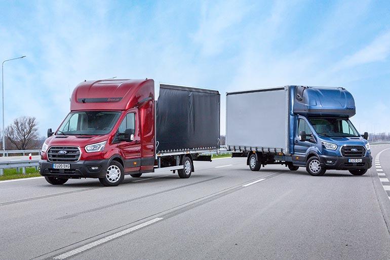 На запит бізнесу у сфері перевезень на далекі відстані: компанія Ford випускає нову подовжену модель шасі Transit