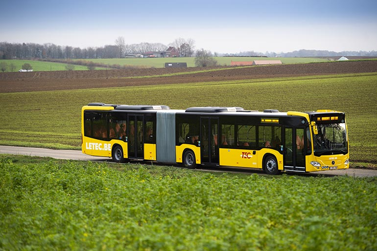 Mercedes-Benz виконає одне з найбільших замовлень на зчленовані автобуси для Бельгії