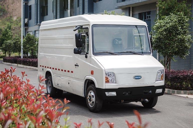 Cenntro анонсує електричний комерційний фургон із запасом ходу до 350 км