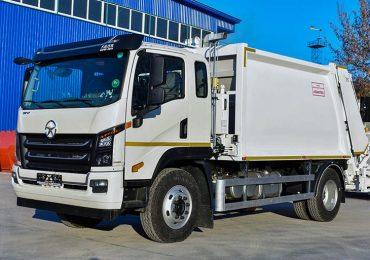 Перший сміттєвоз на шасі DАYUN CGC1140 вже виконує поставлені задачі