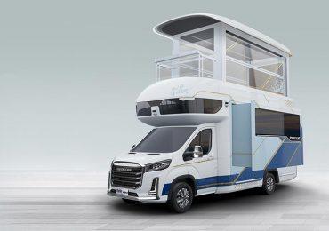 SAIC створив демо-прототип двоповерхового автодому, в якому функціонує ліфт та є балкон