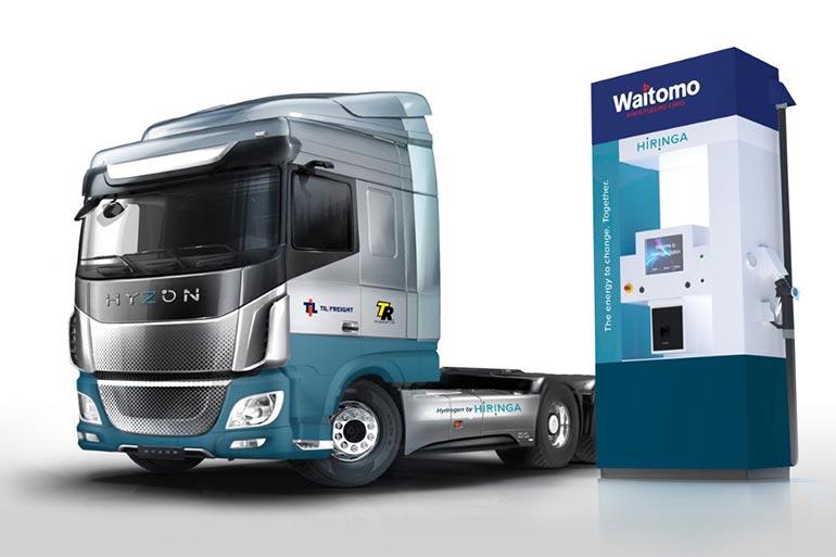 Нова Зеландія закуповує 1500 вантажівок на водні Hyzon Motors