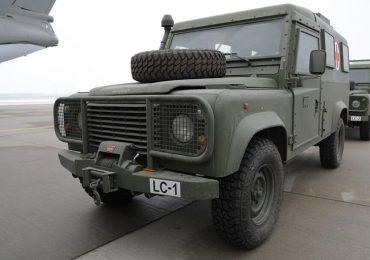 В Україну прибули медичні легкоброньовані автомобілі, передані Латвійською Республікою в якості допомоги ЗСУ
