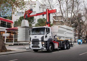 АВТЕК презентував новий міський сміттєвоз на шасі FORD з підвищеною маневреністю