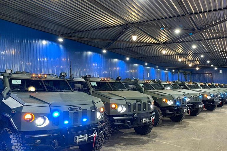 Національна Гвардія України отримала третю партію спецавтомобілів «Новатор»