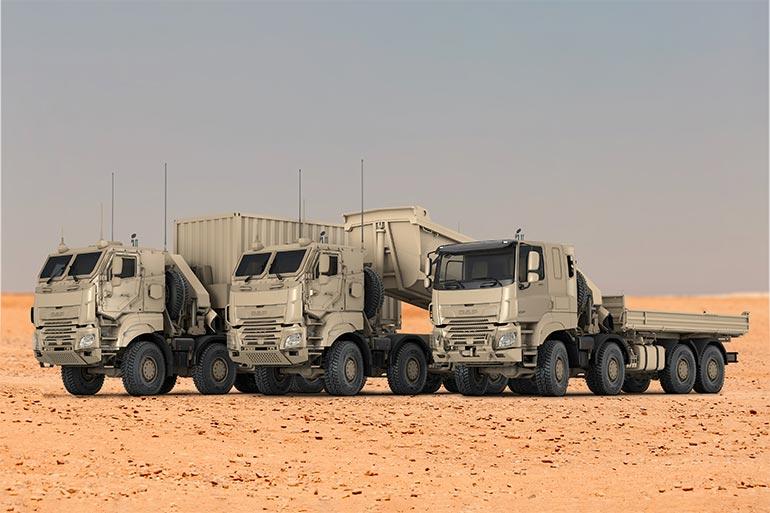 Бельгія закуповує велику партію військових вантажівок DAF