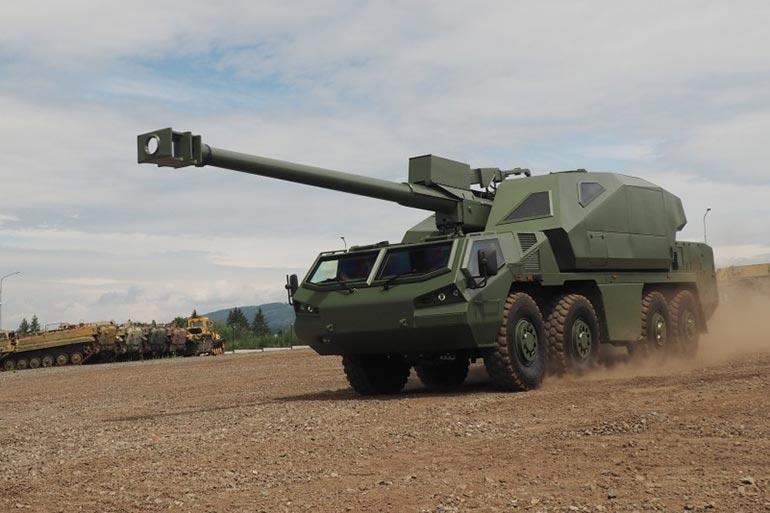 DITA — нова САУ від чеського виробника Excalibur Army