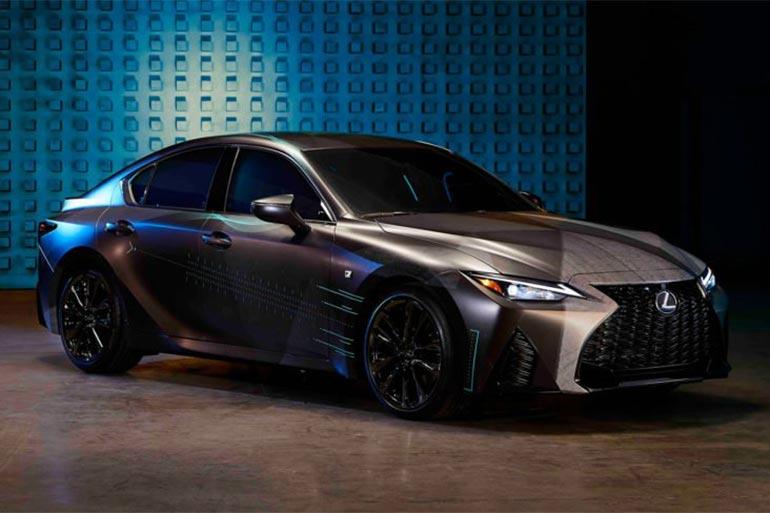 Lexus презентує геймерський спортивний седан