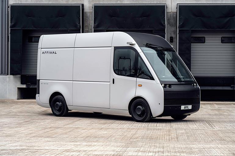 Стартап Arrival влітку випустить свій електрофургон на дороги загального користування