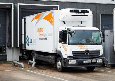 Компанія Unitax використовує Mercedes-Benz Atego для транспортування вакцин у Бранденбурзі