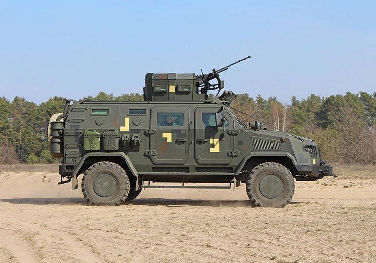 Партія ББКМ «Козак-2М1» надійшла до одного з батальйонів морської піхоти ВМС ЗСУ