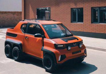 Wuling HongGuang Mini EV 6x6: китайці показали концепт-кар шестиколісного чотирьохмісного автомобіля