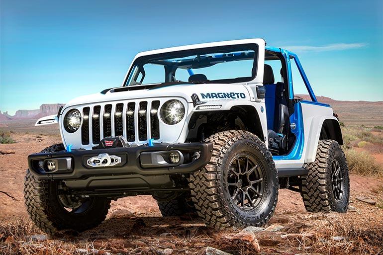 Представлено концепт електричного позашляховика Jeep Wrangler Magneto