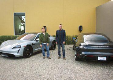 Кіану Рівз і Алекс Вінтер тестують Porsche Taycan в новому фільмі «На відстані»