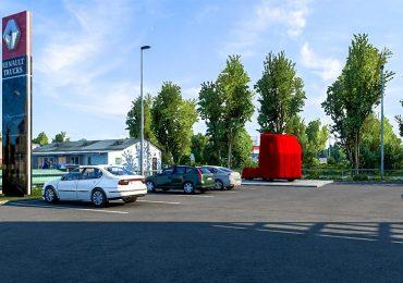 Новий Renault Trucks T-High з'явився у відеогрі Euro Truck Simulator 2. Фото та відео