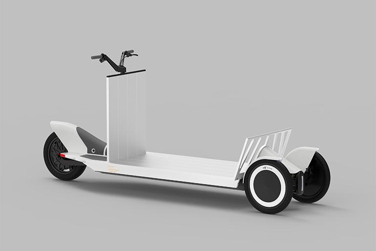 275 кг вантажу перевозить міні-вантажівка Polestar