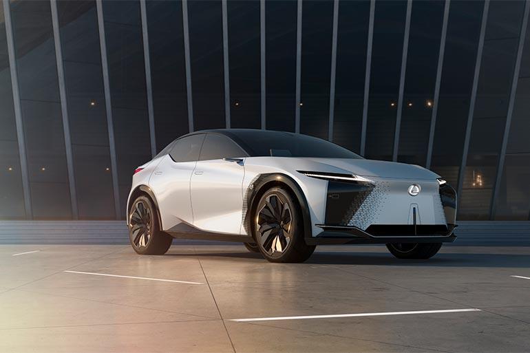 Lexus представив електричний концепт-кар майбутнього LF-Z Electrified