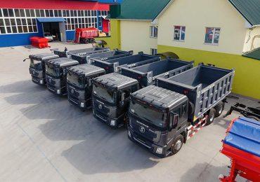 На ринку України з'явилися самоскиди SHACMAN нової серії X3000