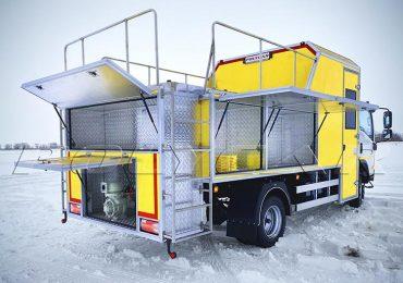 В Україні представили новий спецавтомобіль для проведення реагентних робіт