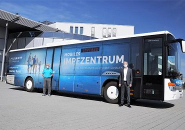 Автобус Setra став мобільним центром вакцинації проти COVID-19