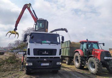 Завод Кобзаренка розробив подрібнювач деревини