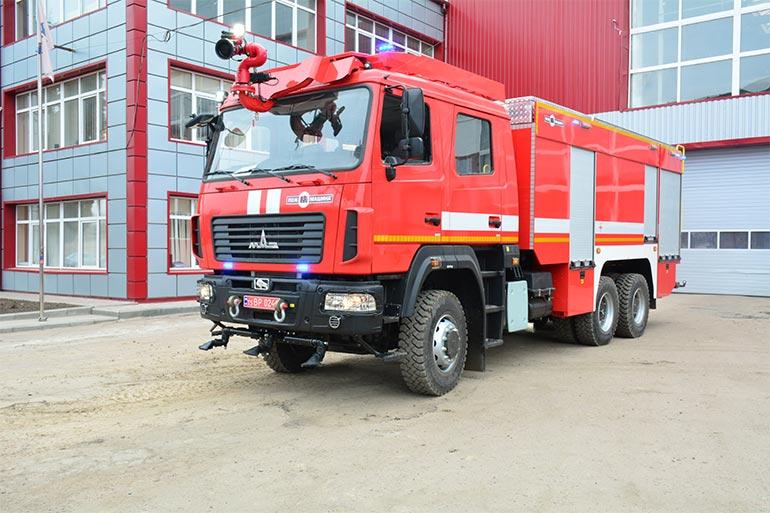 ТОВ ПК «ПОЖМАШИНА» виготовила сучасну важку пожежну автоцистерну