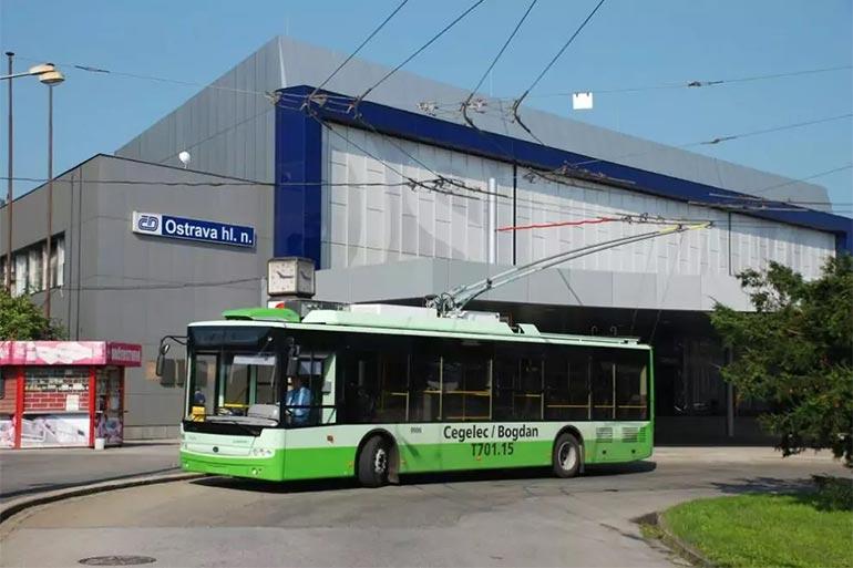Тролейбуси українського виробництва будуть поставлені до Чехії