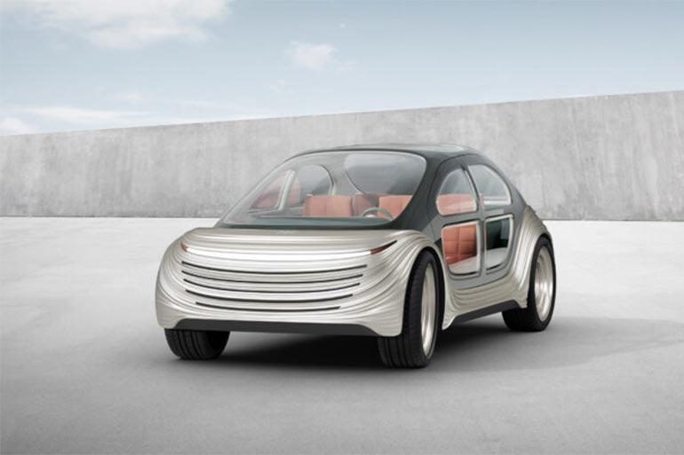 В Шанхаї презентували еко-електромобіль