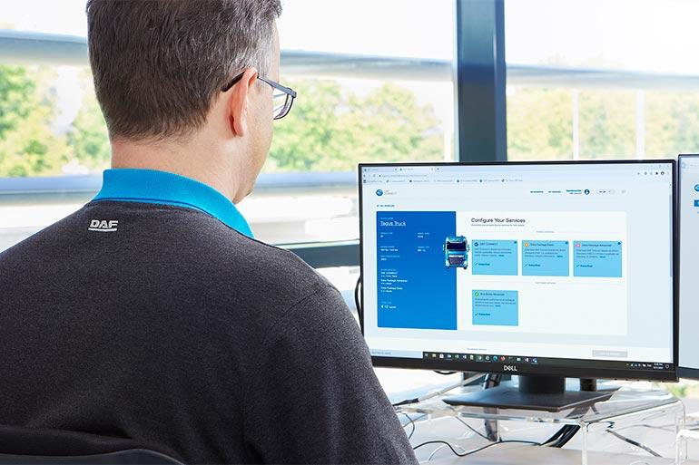 Онлайн-платформа управління автопарком DAF Connect отримала нові функції