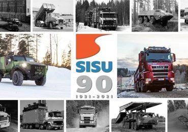 Вантажівки Sisu відсвяткували 90-річний ювілей
