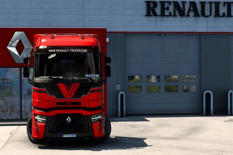 Стали відомі фіналісти конкурсу з дизайну нового Renault Trucks T