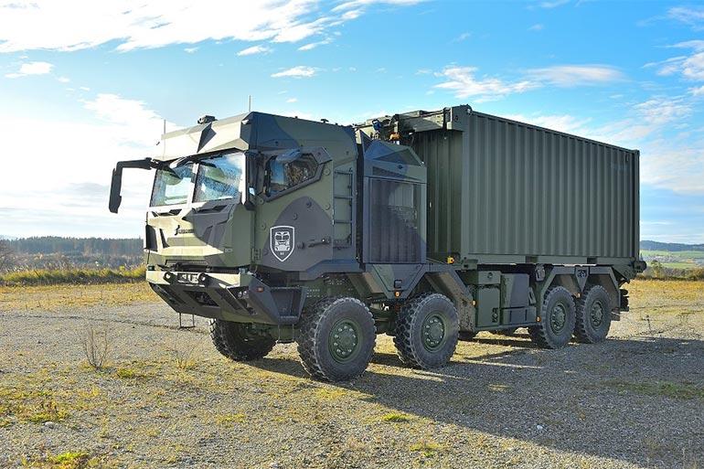 Rheinmetall представляє нове покоління тактичних вантажівок