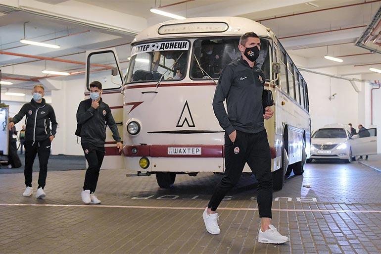«Шахтар» на ретроавтобусі — підготовка до ювілею