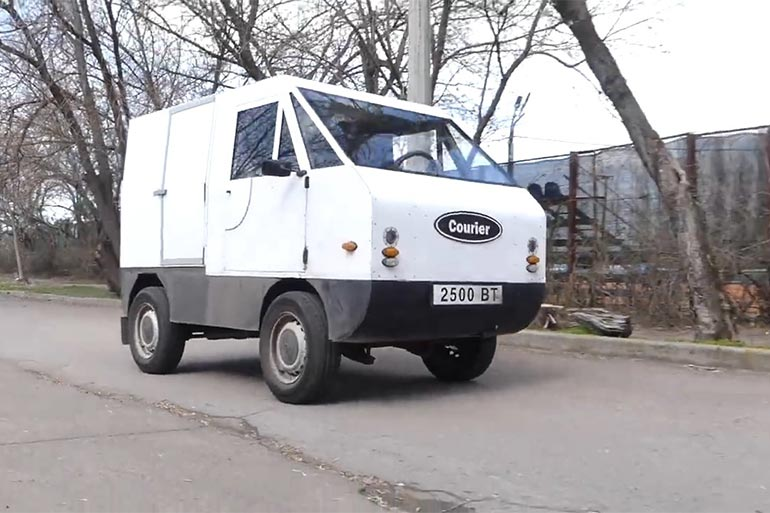 Комерційний електромобіль з робочою назвою «Кур'єр» створили в Миколаєві