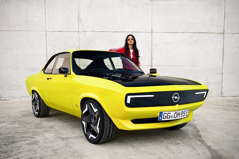 Opel розкрили всі подробиці про електричну модель легендарної Opel Manta
