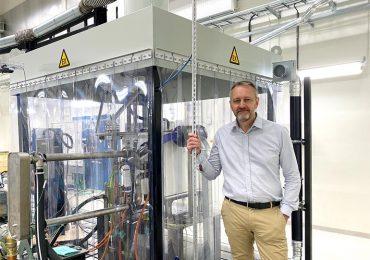 Volvo CE відкрила першу спеціальну лабораторію для випробування паливних елементів