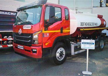 На виставці «Інтер-ТРАНСПОРТ» показали новий паливозаправник