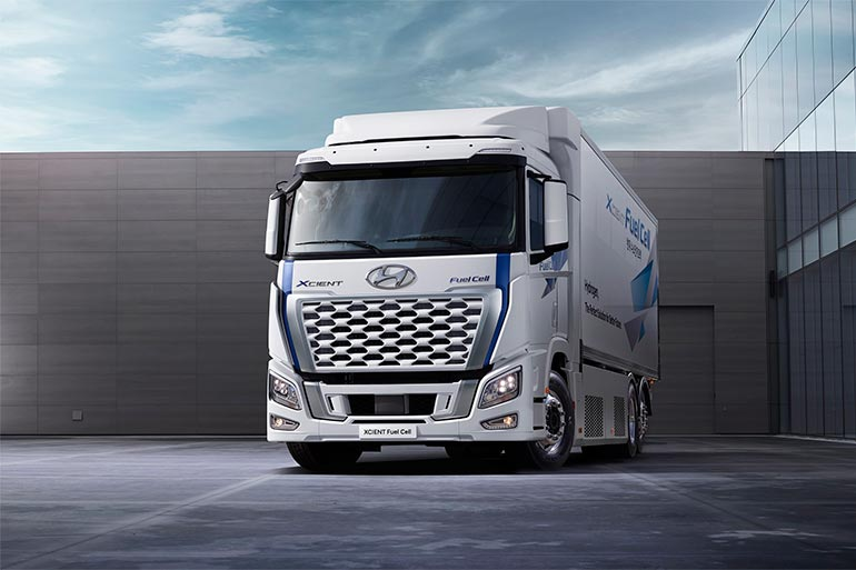 Hyundai Motor оновив вантажівку на водні