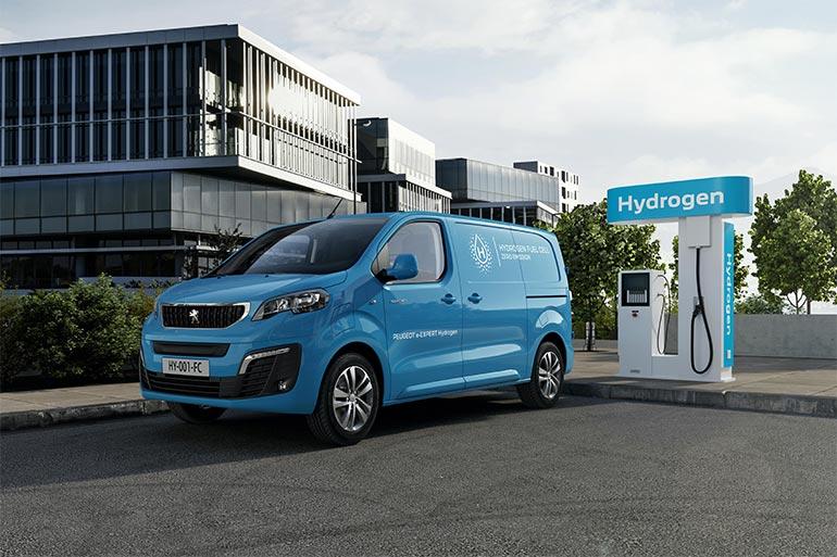 PEUGEOT розпочинає виробництво нового e-Expert Hydrogen