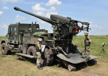 Дослідний зразок колісної САУ 2С22 «Богдана» пройшов один з етапів заводських випробувань. Відео