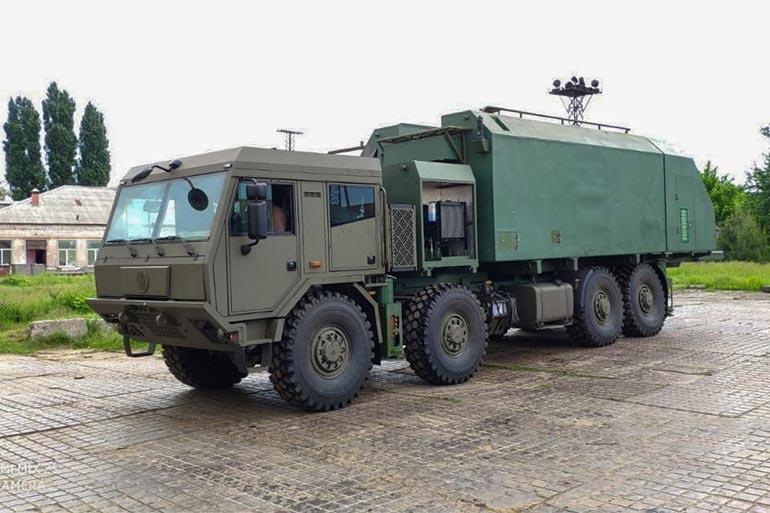 З'явилися перші фото нової мобільної РЛС «Мінерал-У» на шасі Tatra