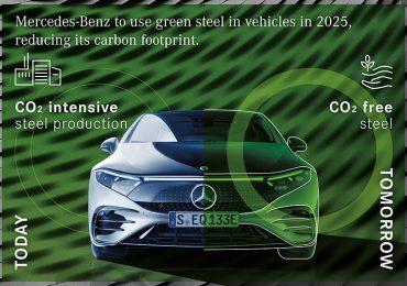 Mercedes перейде на «зелену» сталь в автомобілях з 2025 року