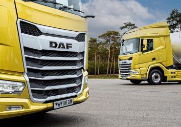 DAF представив нову лінійку вантажівок серії XF, XG та XG+