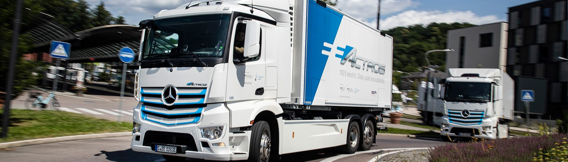 30 червня дебютує електрична вантажівка Mercedes eActros
